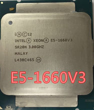 Официальная версия Intel Xeon, V3, 3,0 ГГц, 8 ядер, 20 МБ, E5, 1660V3, 140 Вт, E5, 1660, V3, DDR4, 1866 МГц, МГц, E5-1660, 1660V3