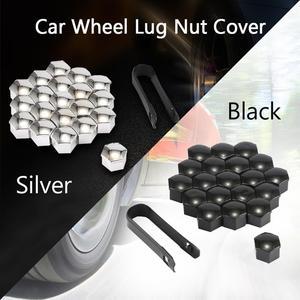 TIOODRE 20pcs/Set Wheels Exterior Bolt Decoration Car Wheel Lug Nut Cover Dustproof Protective Caps Universal Wheel Hub Screw