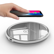 Safe and Radiation Free 10W Qi Wireless Charger for IPhone X
