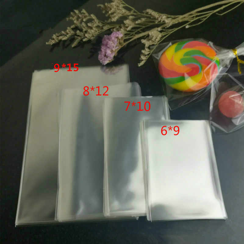 10x15cm para Alimentos Galletas Caramelos Bombones Regalos Joyer/ías Boda Navidad Fiesta Espesor 0,1mm 100pcs Bolsas de Pl/ástico Transparente con Cierre Zip 10*15cm
