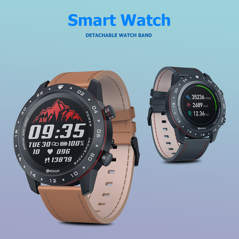 2 Smart <font><b>Watch</b></font> Rate Sleep Monitoring HRV Health <font><b>BT</b></font> Sports <font><b>Watch</b></font> for Zeblaze NEO Outdoor Sporting Exercise Ornaments image