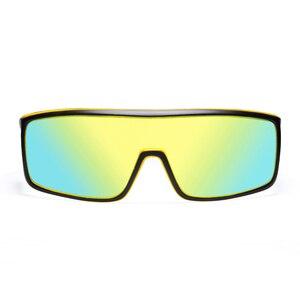 Image 5 - Viahda 2020 New Windproof Sunglasses Fashion Big Frame Brand Designer Women De Sol UV400 With Case