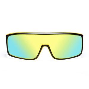 Image 5 - Viahda gafas De Sol a prueba De viento para mujer, lentes De Sol a la moda con marco grande, diseñador De marca, UV400 con funda, 2020