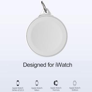 Image 2 - נייד מפתח טבעת שעון אלחוטי מטען USB כבלים עבור אפל iWatch סדרת 5 4 3 2 1 2W אלחוטי טעינה מהירה עבור iWatch 5 4 3
