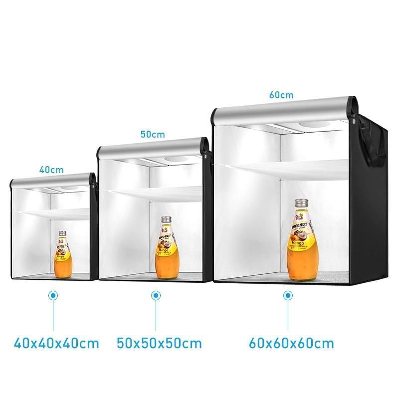 E-shop Photo LED Light Box 40/50/60cm