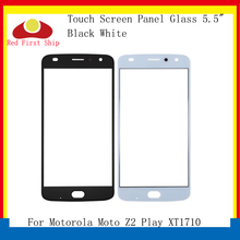 10Pcs/lot Touch Screen For Motorola Moto Z2 Play XT1710 Touch Panel Front Outer LCD Glass Lens For Moto Z2 Play Touchscreen 5 8 inch lcd for motorola moto e5 play go xt1920 lcd touch screen glass panel replacement display free shipping
