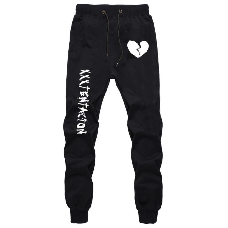 Autumn Harajuku Sweatpants For Men XXXtentacion Printing Pants Teenager Boys Fashion Joggers Workout Trousers Cotton Long Pants