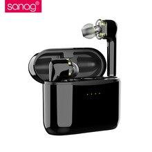 Sanag Double Dynamic Circle Wireless Earphones Bluetooth 5.0 HiFi stereo in-ear Earphone Noise reduction Sport wireless Earbuds