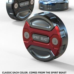 Image 2 - Retro รถจักรยานยนต์เบรคอ่างเก็บน้ำถังน้ำมันถ้วยการปรับเปลี่ยนอุปกรณ์เสริมสำหรับ CFMOTO 700CL X เบรคปั๊มหมวก