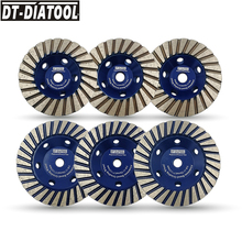 цена на DT-DIATOOL 1pc 100mm/125MM Aluminum Based Grinding Cup Wheel Diamond Grinding Disc Lower Noise for Marble Granite  5/8-11 Thread