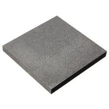 100*100*10 мм 99.9% чистый графитный блок электрод прямоугольная тарелка