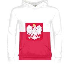POLAND male custom name number pol zipper sweatshirt nation flag pl republic polska polish country college print photo clothes