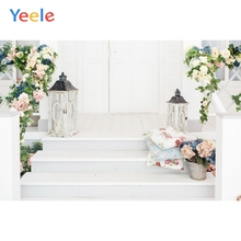 Yeele Wedding Party Decor Baby Birthday Floral White Photography Backdrops Personalized Photographic Background For Photo Studio 60x84 inches flowers theme photography backdrops party background for wedding baby birthday decoration photo wall studio props
