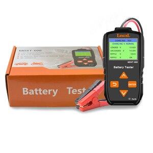 Image 2 - Lancol 12v testador de bateria de carro no sistema de manivela e sistema de carregamento ferramenta de verificação 40 2000 cca automotivo mau ferramenta de teste de célula