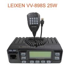 Auto Radio VV 898S 25W LEIXEN Dual band 144/430MHz Mobile Transceive Amateur VV898S Ham Radio Zwei weg radio