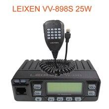 자동차 라디오 VV 898S 25W LEIXEN 듀얼 밴드 144/430MHz 모바일 트랜시버 아마추어 VV898S 햄 라디오 양방향 라디오