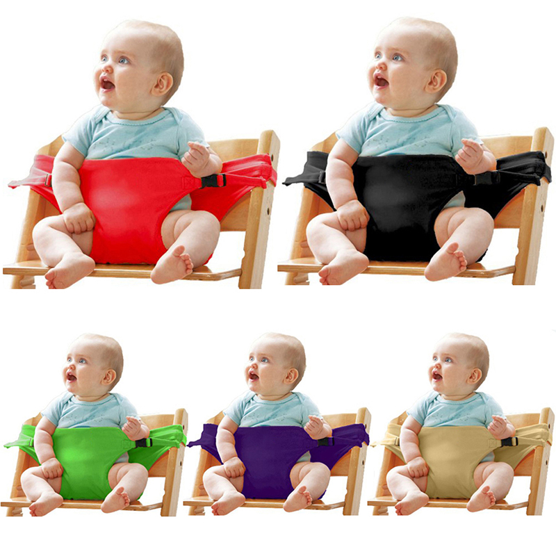 Baby Dining Chair Safety Belt Portable Seat Lunch Chair Seat Stretch Wrap Feeding Chair Harness Baby Booster Seat Baby Belt