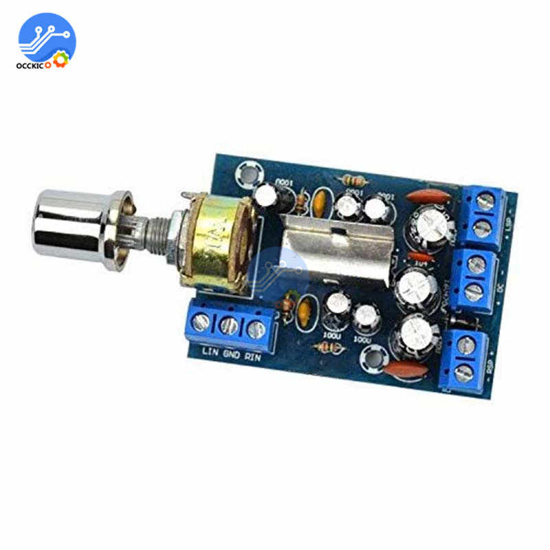 TEA2025B מיני אודיו מגבר לוח כפול סטריאו 2.0 ערוץ מגבר לוח עבור מחשב רמקול 3W + 3W 5V 9V 12V רכב