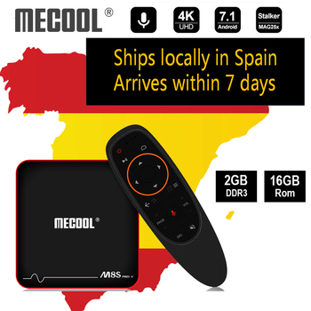 Mecool Newest TV Box M8S PRO W Android 7.1 Amlogic S905W 1GB 8GB 2GB 16G 3D 4K 2.4G WiFi UHD IPTV Voice Remote Media Player
