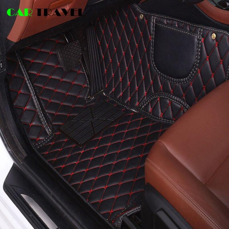 tapis de sol de voiture en cuir personnalise pour citroen c4 c5 c2 c3 c6 drain c quatre triomphe elysee picasso accessoires de voiture style
