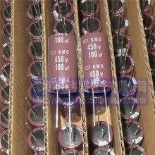 10pcs ใหม่ NIPPON KMQ 450V100UF 18X35 มม.NCC Electrolytic Capacitor 100 UF/450 V CHEMI CON kmq 100 uF 450V