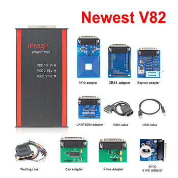 Car Iprog + V82 ECU Programmer Support IMMO Mileage Correction Airbag Reset Pro Till Replace Iprog+ - discount item  30% OFF Car Repair Tool