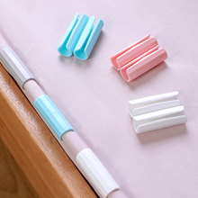 12Pcs/set Bed Sheet Clips Quilt Bed Cover Grippers Slip-Resistant Clamp Fasteners Mattress Holder for Sheets Home Clothes Peg
