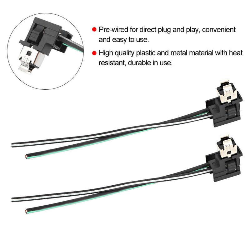 2 шт. фара лампа гнездо жгута проводов разъем адаптер линия для H1 лампы Новый