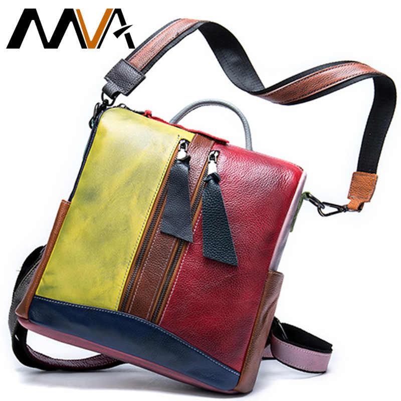 MVA женские сумки из натуральной кожи, женские сумки на плечо, сумки через плечо, сумки через плечо для женщин, сумка-мессенджер Laides 521