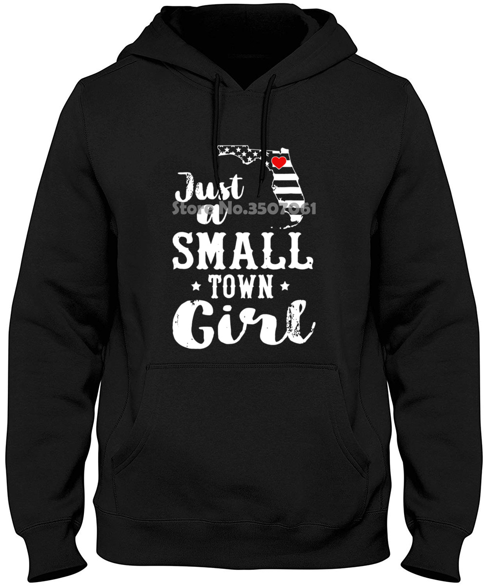 Just A Small Town Girl Florida Girl High Quality Popular Hoodies & Sweatshirts image
