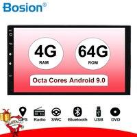 2 Din 7 ''Восьмиядерный Универсальный Android 8,1/9,0 автомобильный Радио Стерео gps навигация WiFi 1024*600 сенсорный экран 2din автомобильный ПК