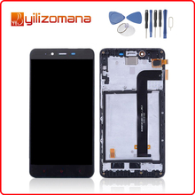 5.5 For XIAOMI Redmi Note 2 LCD Display Touch Screen with Frame Digitizer Assembly Prime