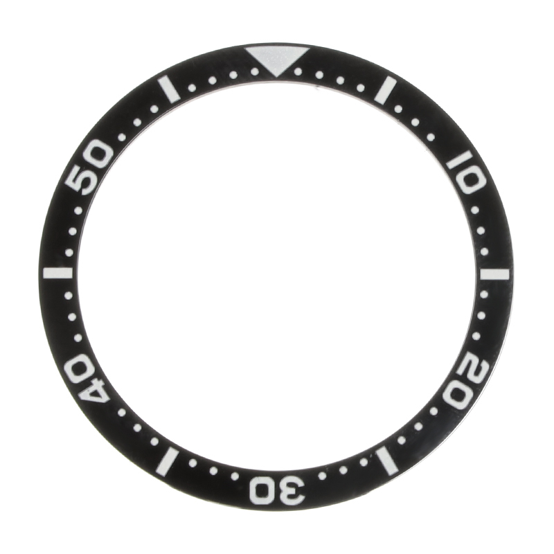 New 38mm Black Ceramic Bezel Insert For Seiko Watch Face Watches Replace Accessories For Submariner Automatic Mens Watch