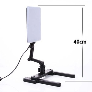 Image 3 - CN T96 18W 96 светодиодсветильник студийная Фотографическая лампа с регулируемым рычагом