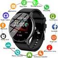 LIGE 2021 New Smart Watch Men Heart Rate Sport Multifunction Waterproof Full Touch Screen Smartwatch Man Women For Huawei Xiaomi