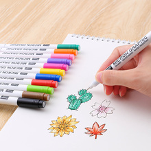 12 Color/set Liner Pen Waterproof Smooth Fine liner Pigma Micron Pen 0.45mm Drawing Marker Draw Liners Artist Markers Pens