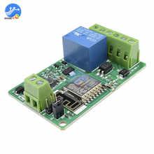 Module relais WiFi DC 7V-30V, commutateur sans fil 10a 220V ESP8266, commande à distance pour maison intelligente