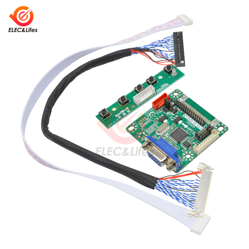 5V MT6820-B Universal LVDS LCD Monitor HD Screen Driver Controller Board For 10-42 Inch LCD Display Laptop PC Computer MT6820