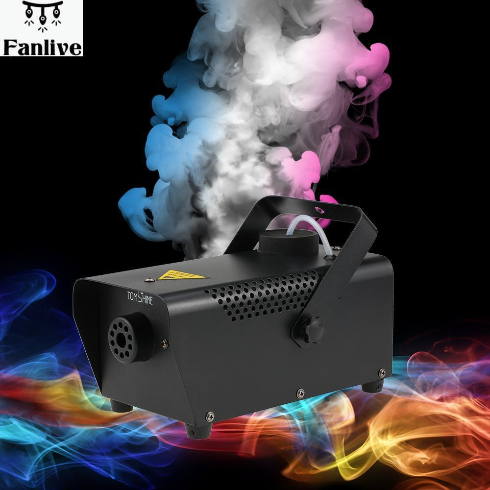 4pcs New Arrival Portable Fog Smoke Machine Wired Remote Control 400W For Halloween Wedding Function Home Party Club Pub Holiday