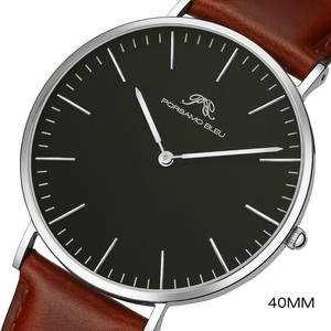 Image 1 - Dial 40mm mens simple fashion watch DW same 316L stainless steel Japanese Shiying movement