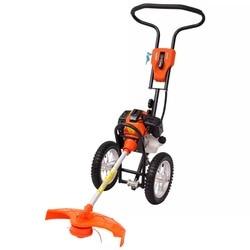 Cortadora de cepillo VidaXL ruedas de 2 tiempos 1,9 KW 52 Cc 2,6 HP cortadora de césped para jardín herramientas
