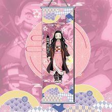 Demônio slayer: kimetsu não yaiba tanjirou nezuko anime mangá parede cartaz rolo 2020