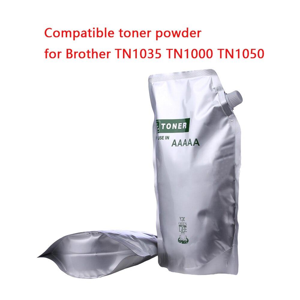 500G czarny toner w proszku kompatybilny do Brother TN1000 TN1030 TN1050 TN1060 TN1070 dźwięk HL-1110 1112 1202R drukarki