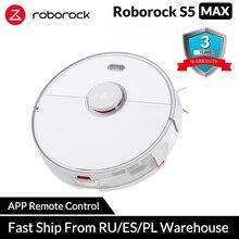 Global Roborock aspiradora Robot 2 s50 s55 para Xiao mi casa APP húmedo limpieza Polvo inteligente camino planeado