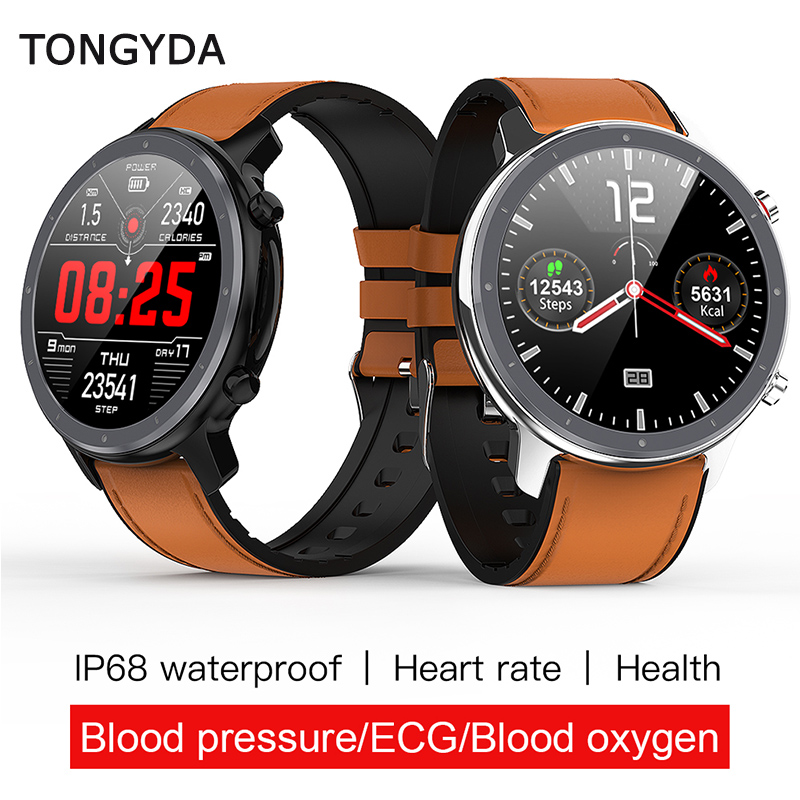 TONGYDA L11 Smart Watch Men ECG+PPG Heart Rate Blood Pressure Monitor IP68 Waterproof Weather <font><b>Smartwatch</b></font> VS DT78 L5 L8 <font><b>L7</b></font> L9 L10 image