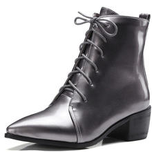 Короткие женские ботинки женская обувь короткие 40 48