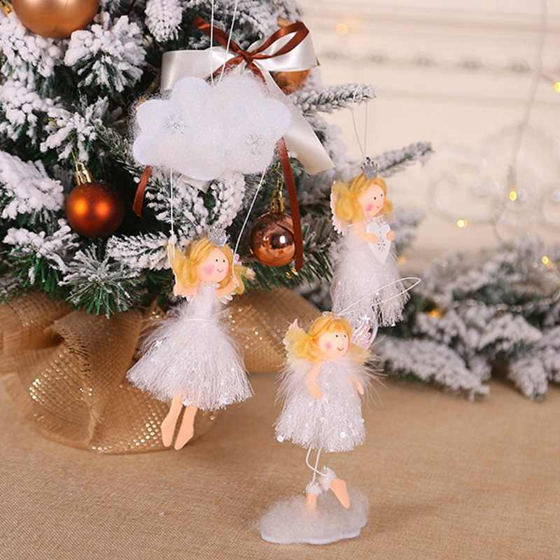 Cute Angel Pendant Innovative Christmas Tree Decorations Closet Hanging Ornaments Christmas Decorations For Home