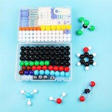 Jogo molecular da química orgânica do modelo do átomo de 267 pces para professores e estudantes do ensino médio