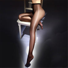 Sexy twinkle óleo brilhante mulheres magras pernas brilhantes collants sem costura meias de meia-calça meias de seda super elástica medias meias