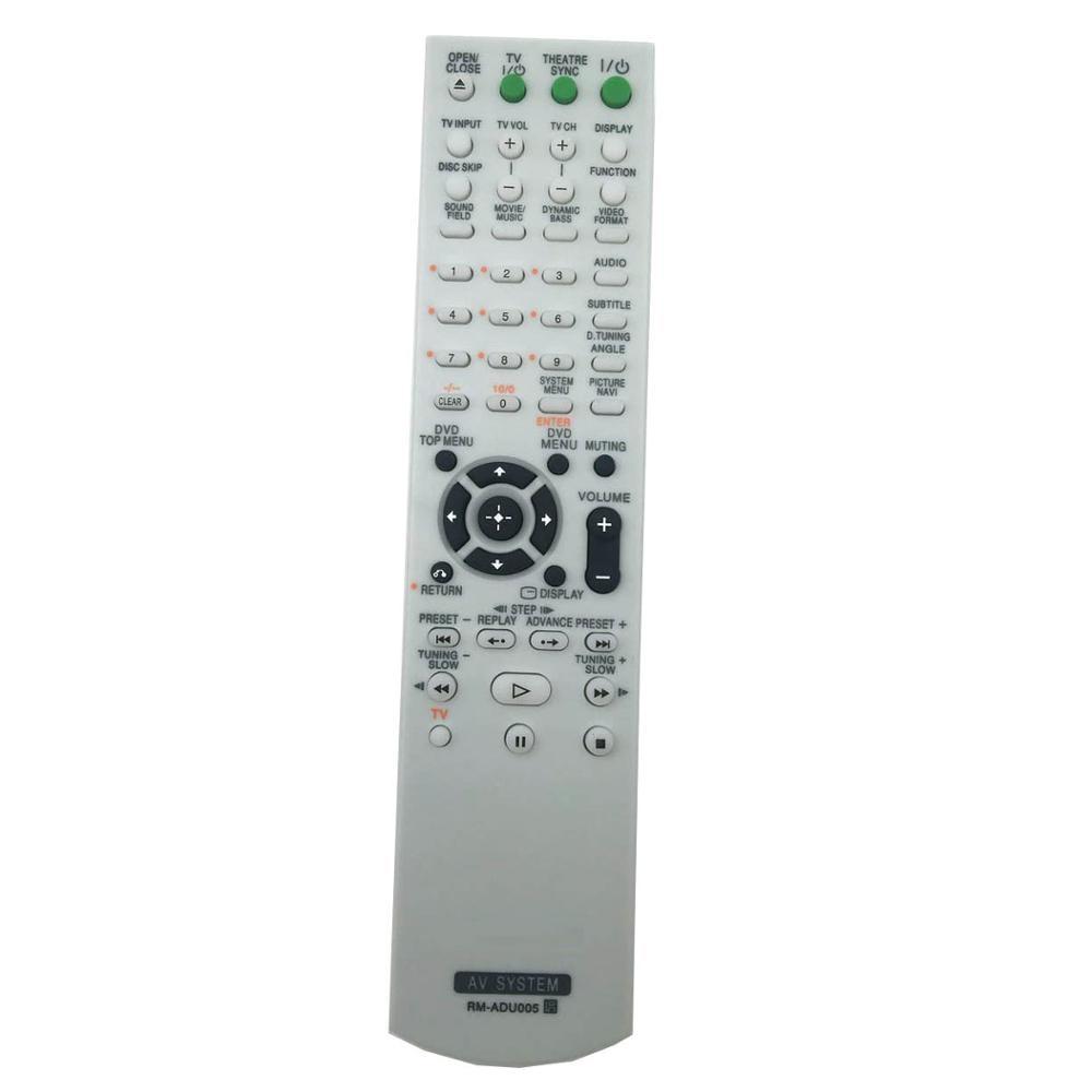 New RM-ADU005 For Sony DVD Home Theater System Remote control DAV-DZ630 HCD-DZ630 DAV-HDX265
